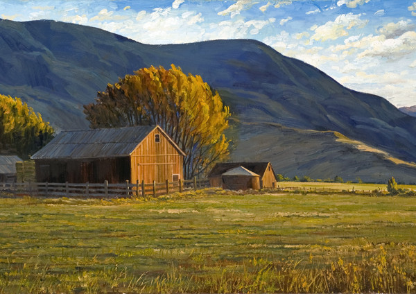 Summers on Nevada Farm #2